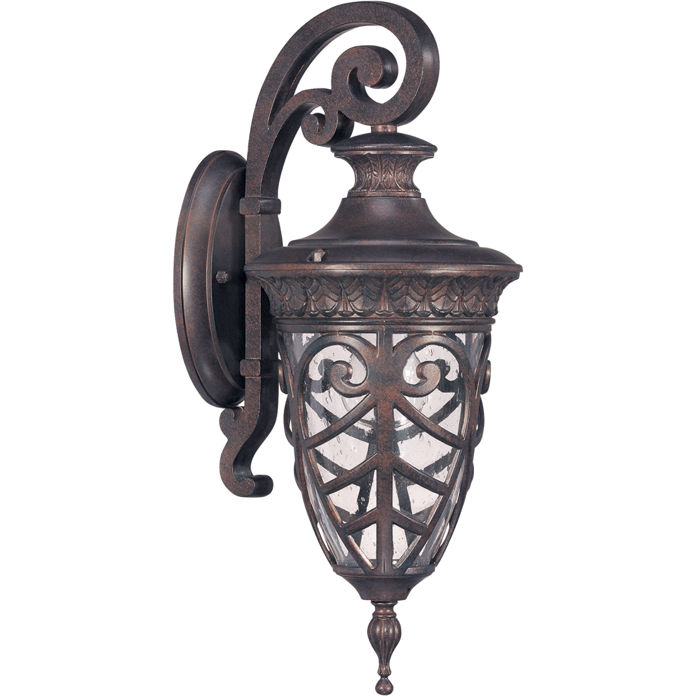 1 Light Small Outdoor Wall Lantern (Arm Down) (Gallery 7 of 20)
