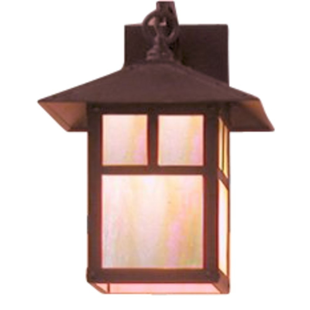 12 7/8 Inch Copper Outdoor Wall Light (View 1 of 20)