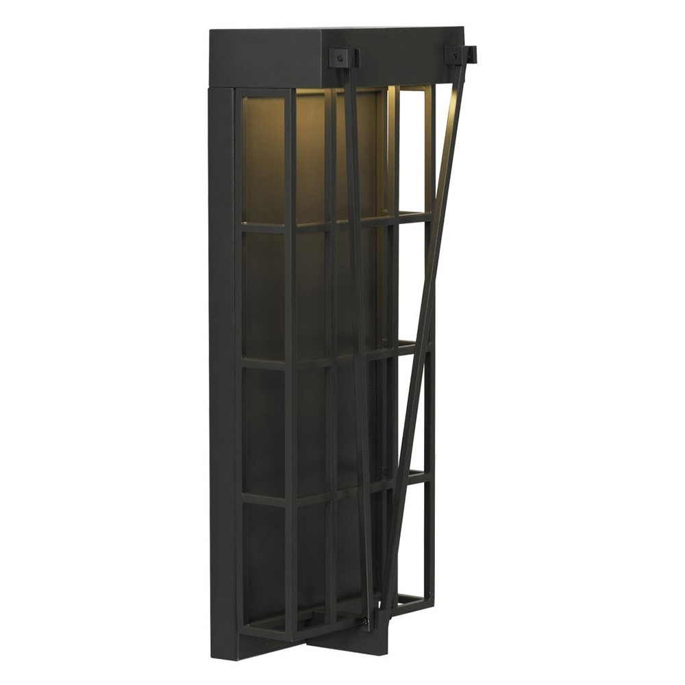 17 Big Outdoor Wall Sconces, Kichler Lighting Caterham Modern Regarding Most Up To Date Big Outdoor Wall Lighting (View 1 of 20)