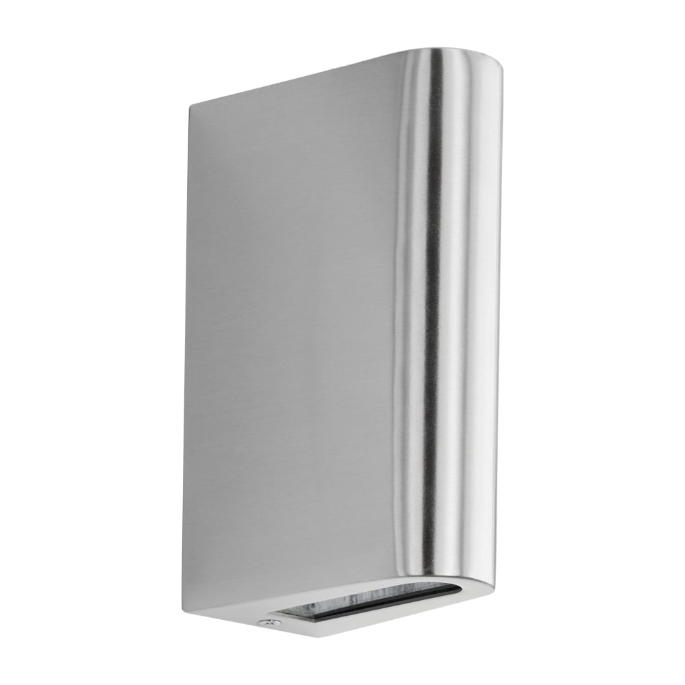 200mm Eglo Riga Outdoor Led Wall Lighting In Current Eglo 95095 Langreo Led Up And Down Exterior Wall Light Stainless Steel (View 6 of 20)
