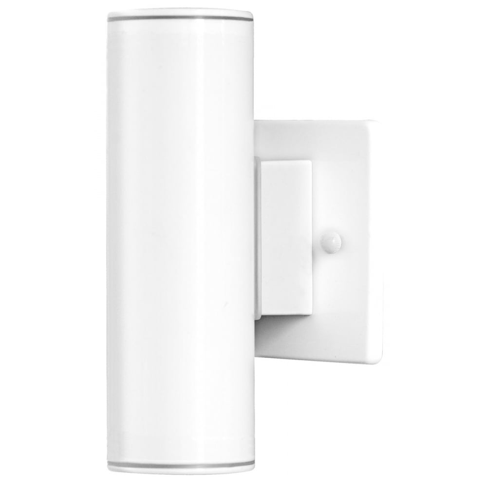 200Mm Eglo Riga Outdoor Led Wall Lighting With Regard To Trendy Riga 84004 Wh Ip44 Modern Outdoor Wall Light In White From Arrow (View 5 of 20)