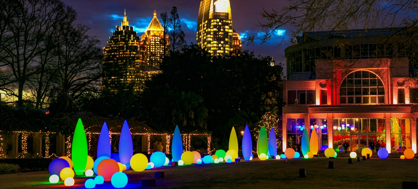 2018 Botanical Garden Lights For Garden Lights Holiday Nights – Concierge Services Of Atlanta (View 1 of 20)