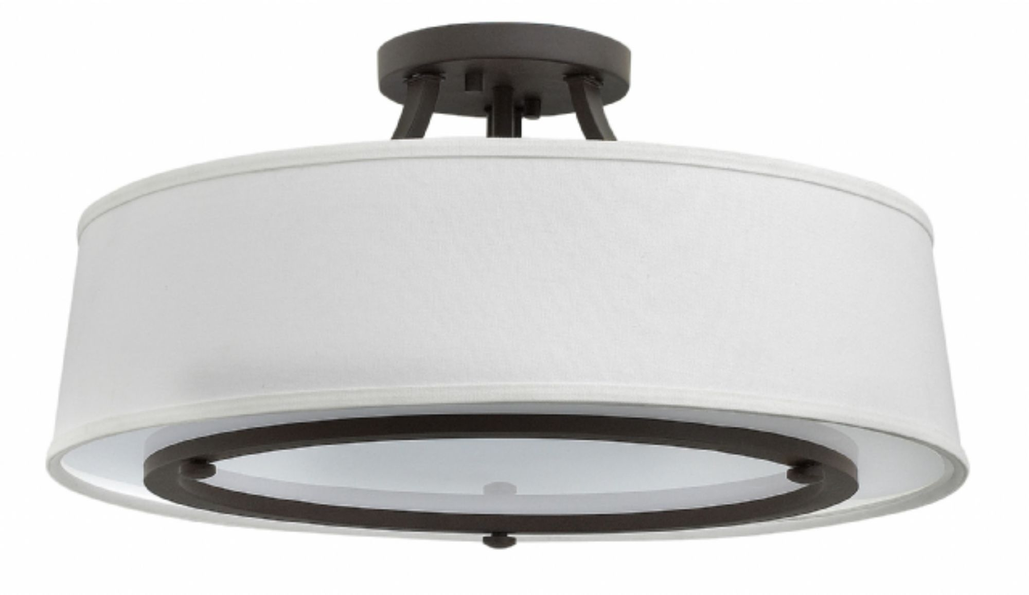 2018 Buckeye Bronze Harrison > Interior Ceiling Mount Inside Flush Mount Hinkley Lighting (View 18 of 20)