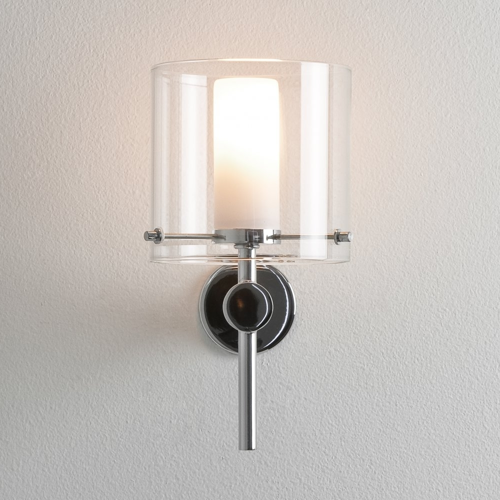 2018 Chrome Outdoor Wall Lighting Intended For Gorgeous Modern Outdoor Wall Lights (View 10 of 20)