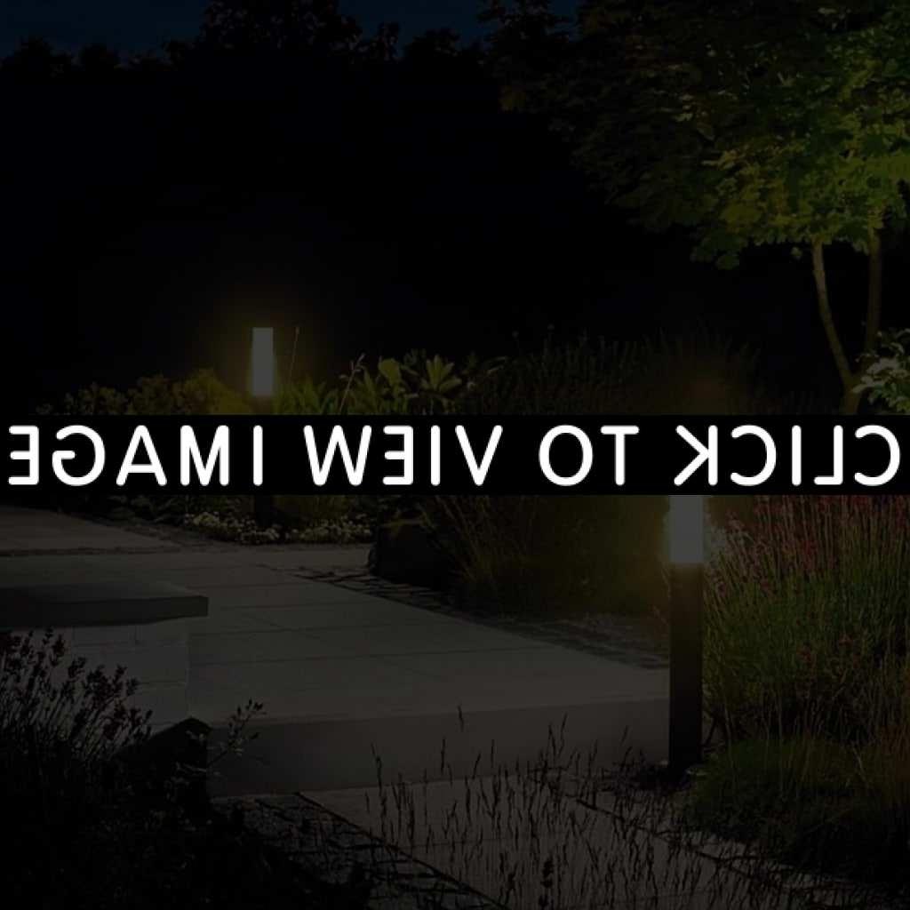 2018 Contemporary Solar Garden Lighting Fixtures In Modern Garden Lighting. Modern Garden Lighting S – Dumba (View 1 of 20)