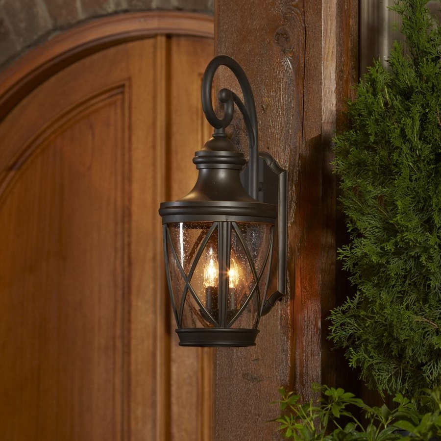 2018 Cottage Outdoor Lighting For Shop Allen + Roth Castine (View 12 of 20)