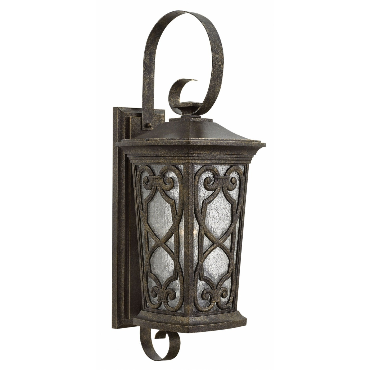 2018 Extra Large Wall Mount Porch Hinkley Lighting Pertaining To Hinkley Lighting 2278am Enzo 1 Light 100w Outdoor Extra, Extra Large (View 7 of 20)