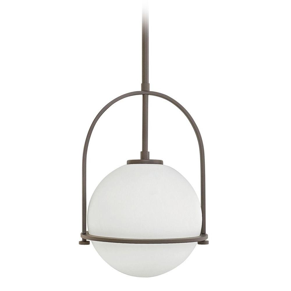 2018 Hinkley Lighting Somerset Buckeye Bronze Pendant Light With Globe Regarding Hinkley Outdoor Ceiling Lights (Gallery 19 of 20)
