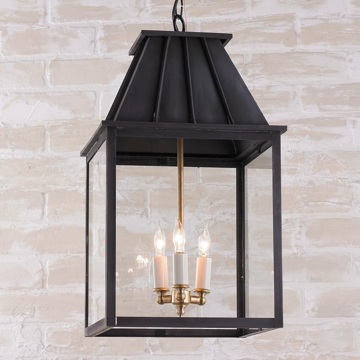 2018 Mansard Style Outdoor Hanging Lantern (View 1 of 20)