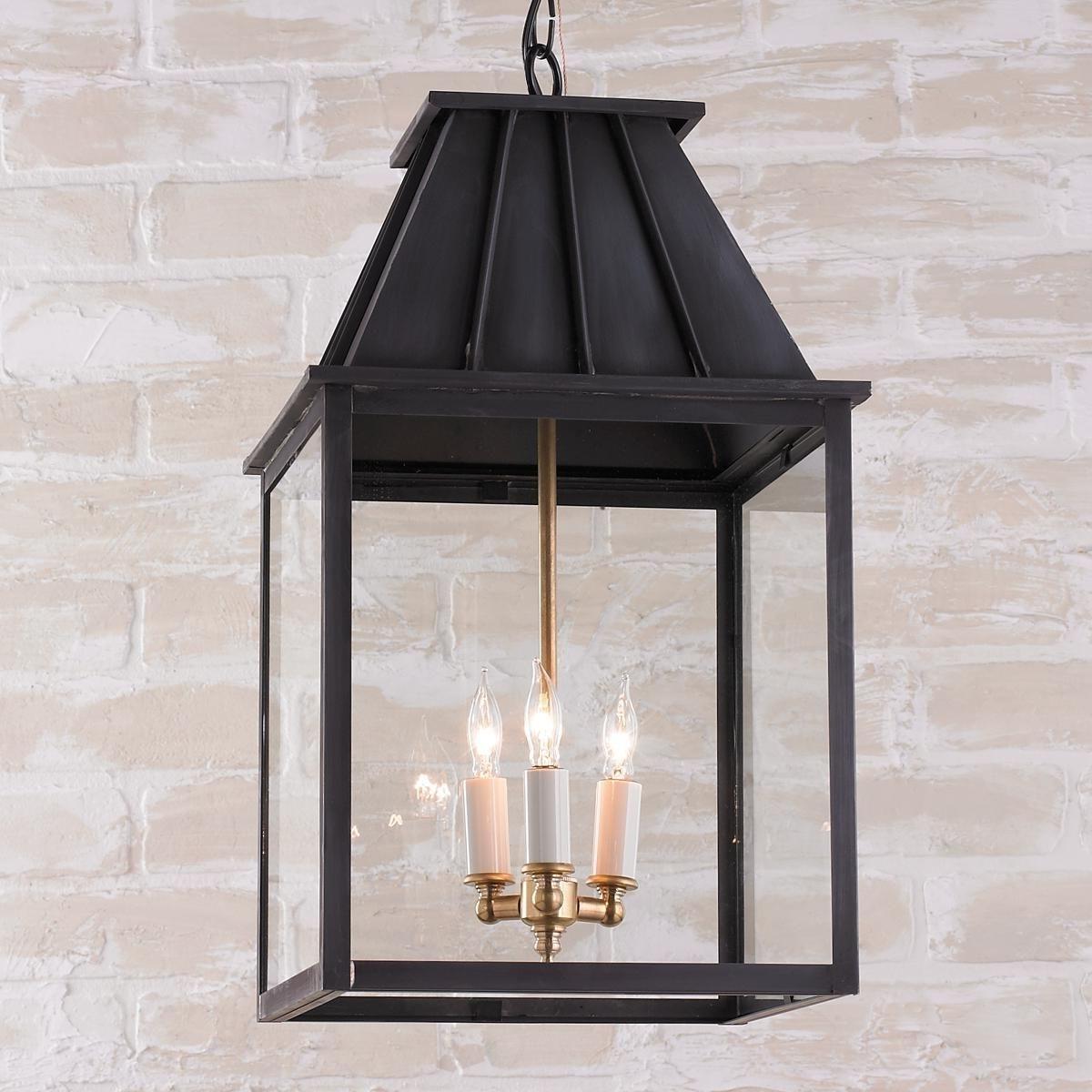 2018 Mansard Style Outdoor Hanging Lantern (View 9 of 20)