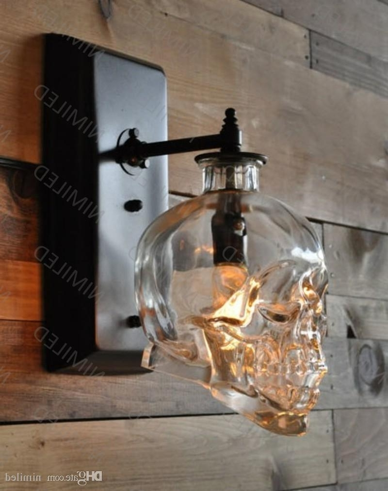 2018 Nimi602 Loft Personality Industrial Iron+Glass Retro Bar Outdoor Throughout Industrial Outdoor Wall Lighting (View 2 of 20)