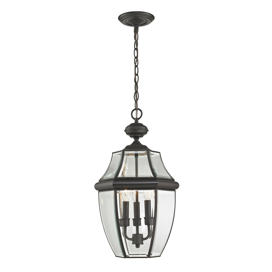 2018 Oil Rubbed Bronze Outdoor Hanging Lights Intended For Shop Westmore Lighting Keswick 21 In Oil Rubbed Bronze Outdoor (View 14 of 20)