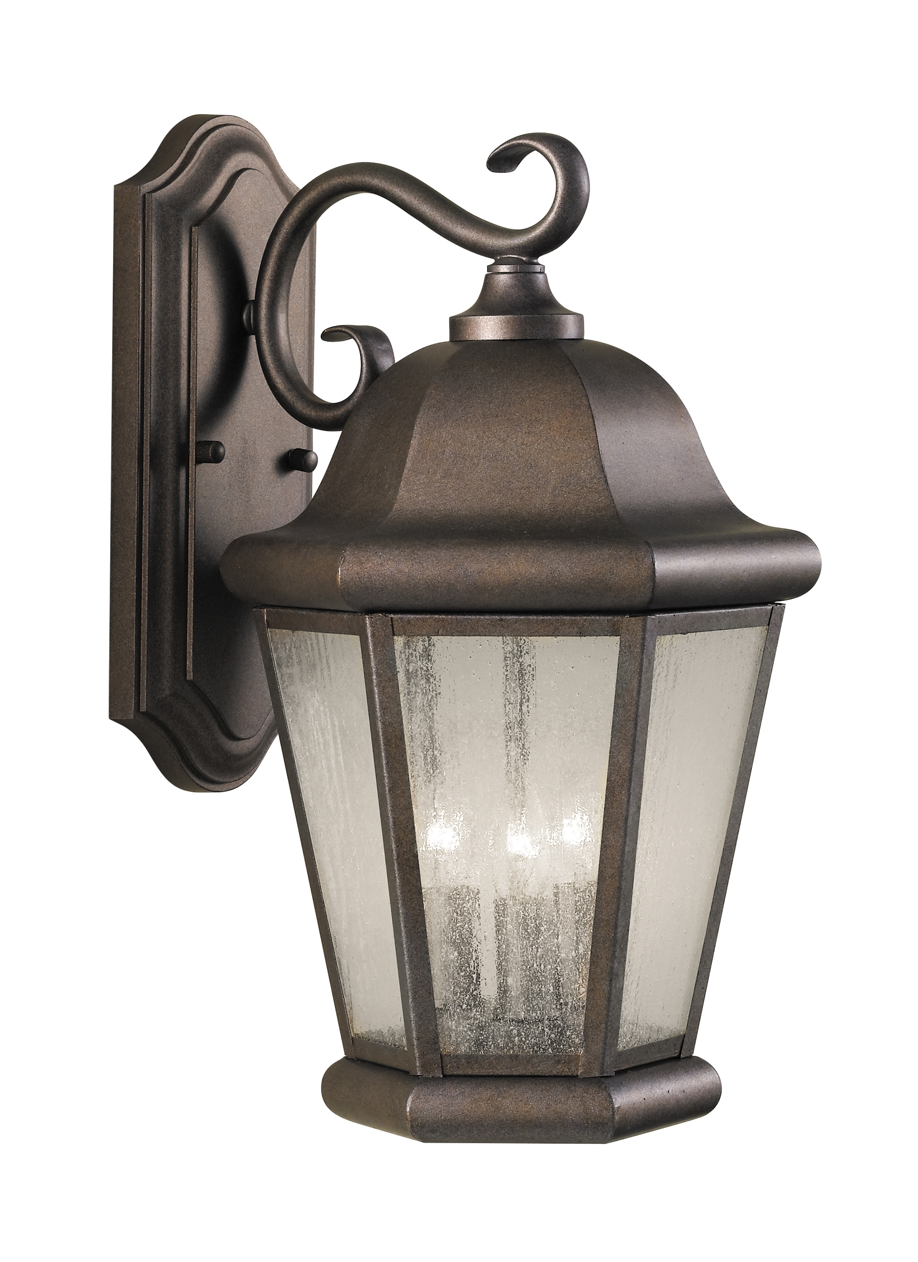 2018 Ol5902Cb,3 – Light Wall Lantern,corinthian Bronze Intended For Outdoor Wall Lighting At Houzz (Gallery 1 of 20)