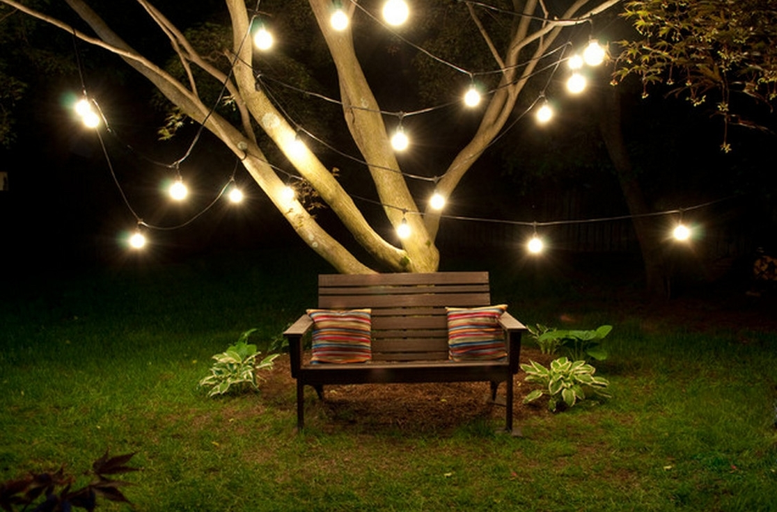 2018 Outdoor Hanging Lights For Trees Within Hanging Outdoor Lights On Tree : The Best Hanging Outdoor Lights (Gallery 18 of 20)