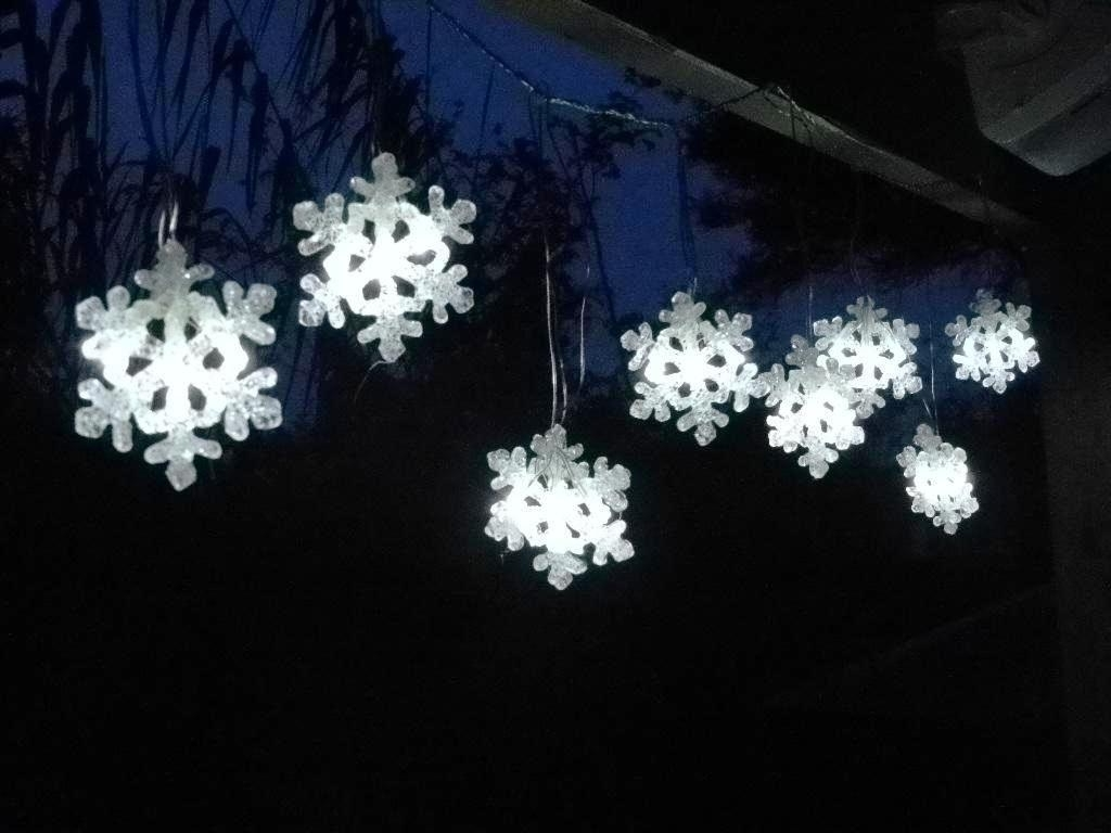 2018 Outdoor Hanging Snowflake Lights Pertaining To Led Snowflake Lights Outdoor Ideas : Furniture Decor Trend – Home (View 3 of 20)