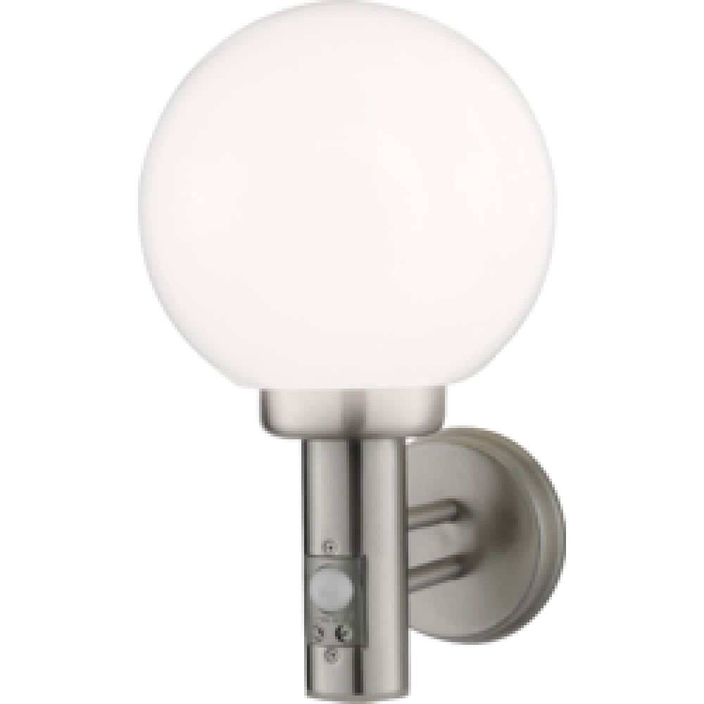 2018 Outside Wall Globe Lights Regarding Knightsbridge Nh0112Ds 40 Watt Outdoor Globe Wall Light (View 3 of 20)