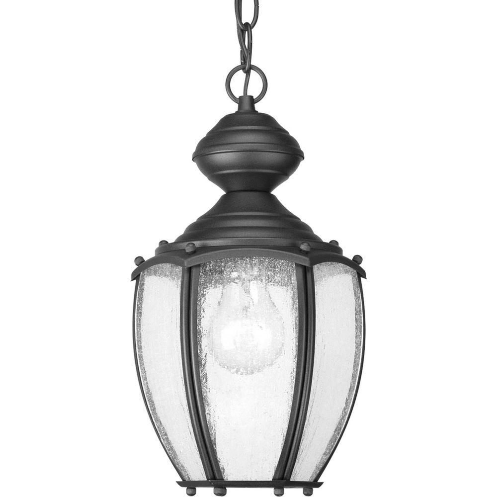 2018 Progress Lighting Roman Coach Collection 1 Light Outdoor Black Intended For Outdoor Hanging Coach Lights (View 2 of 20)