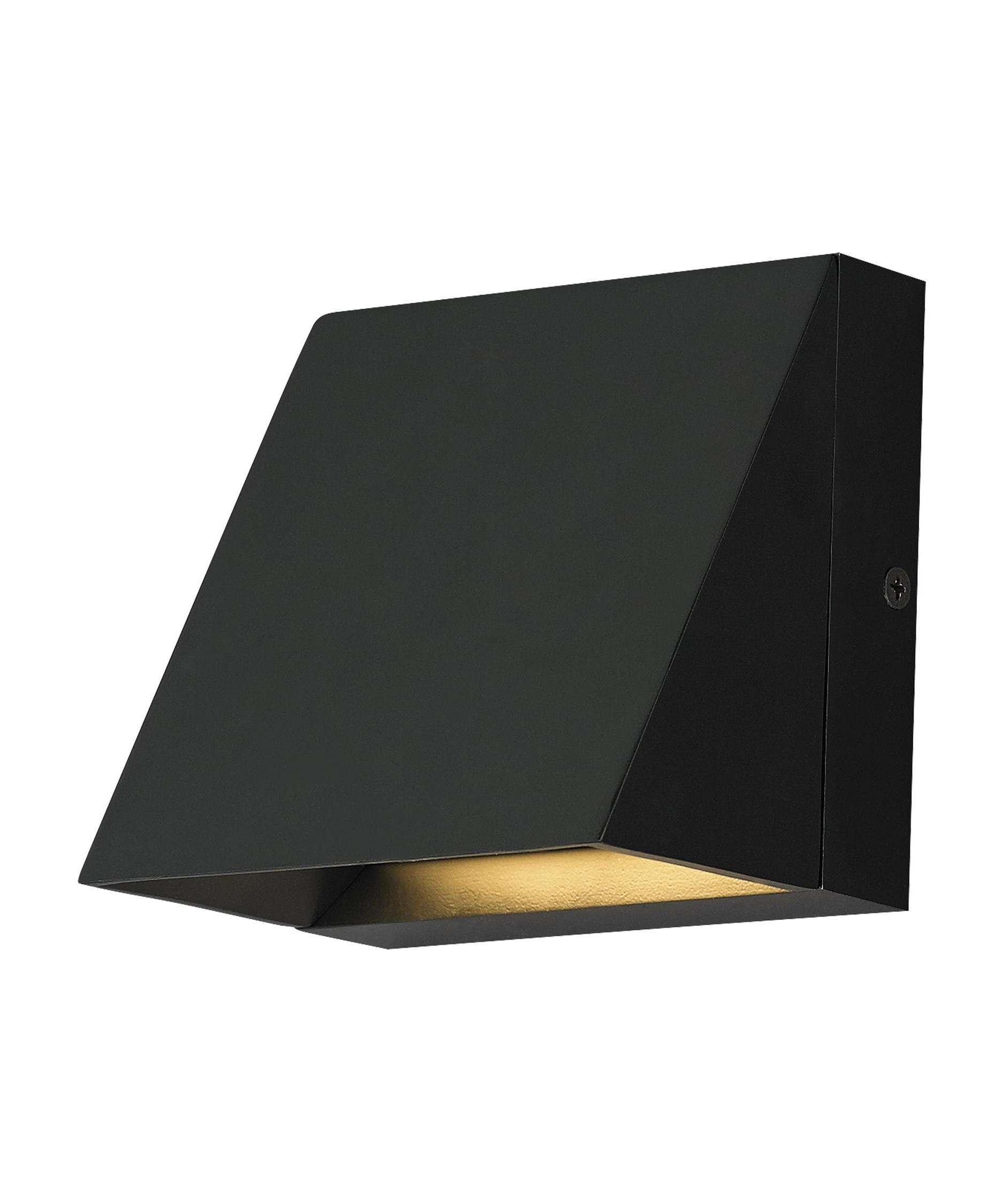 2018 Tech Lighting 700Wspits Pitch 5 Inch Wide 1 Light Outdoor Wall Light Intended For Black Outdoor Led Wall Lights (View 2 of 20)