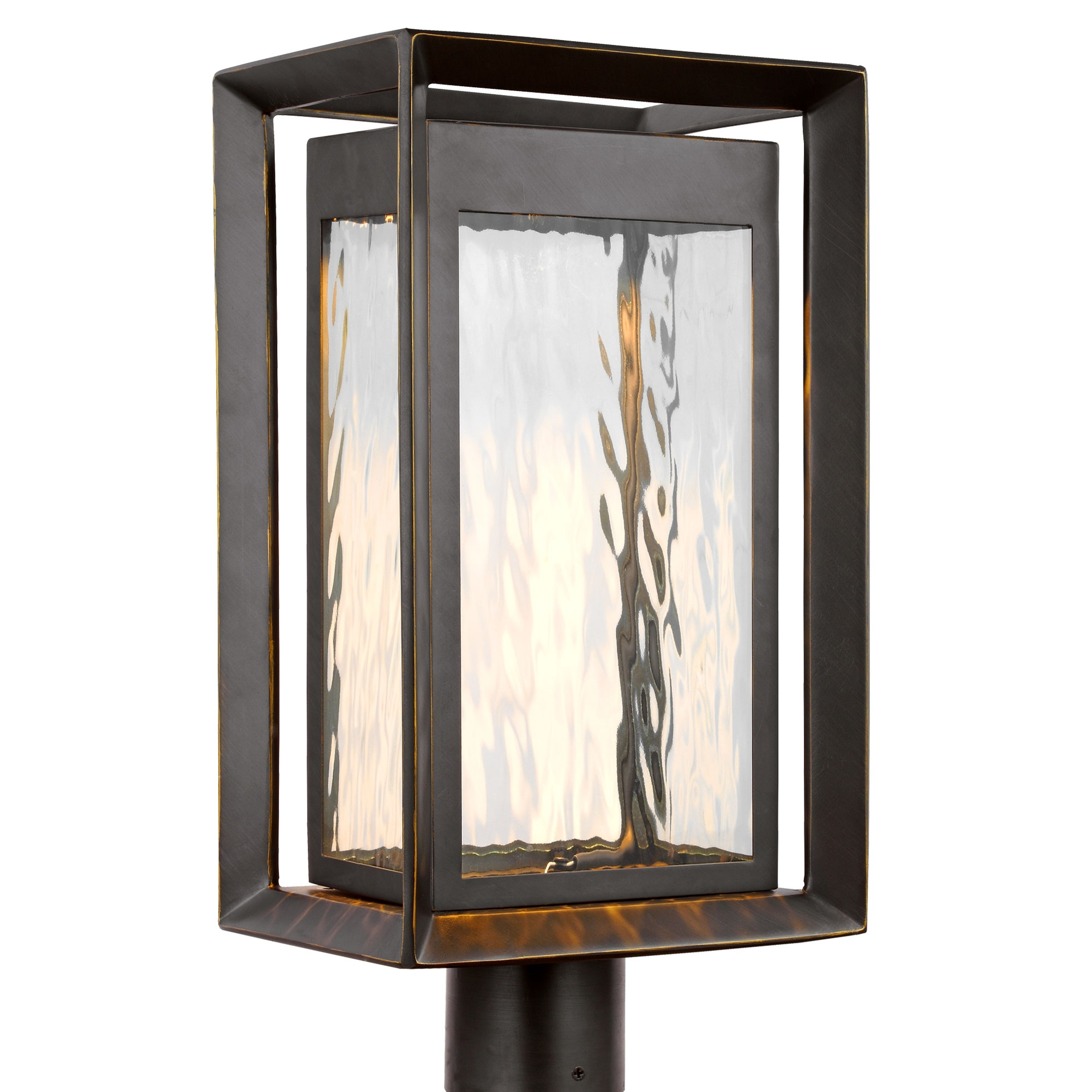 2019 $279 Sale Urbandale Led Outdoor Post Mountfeiss (Gallery 13 of 20)