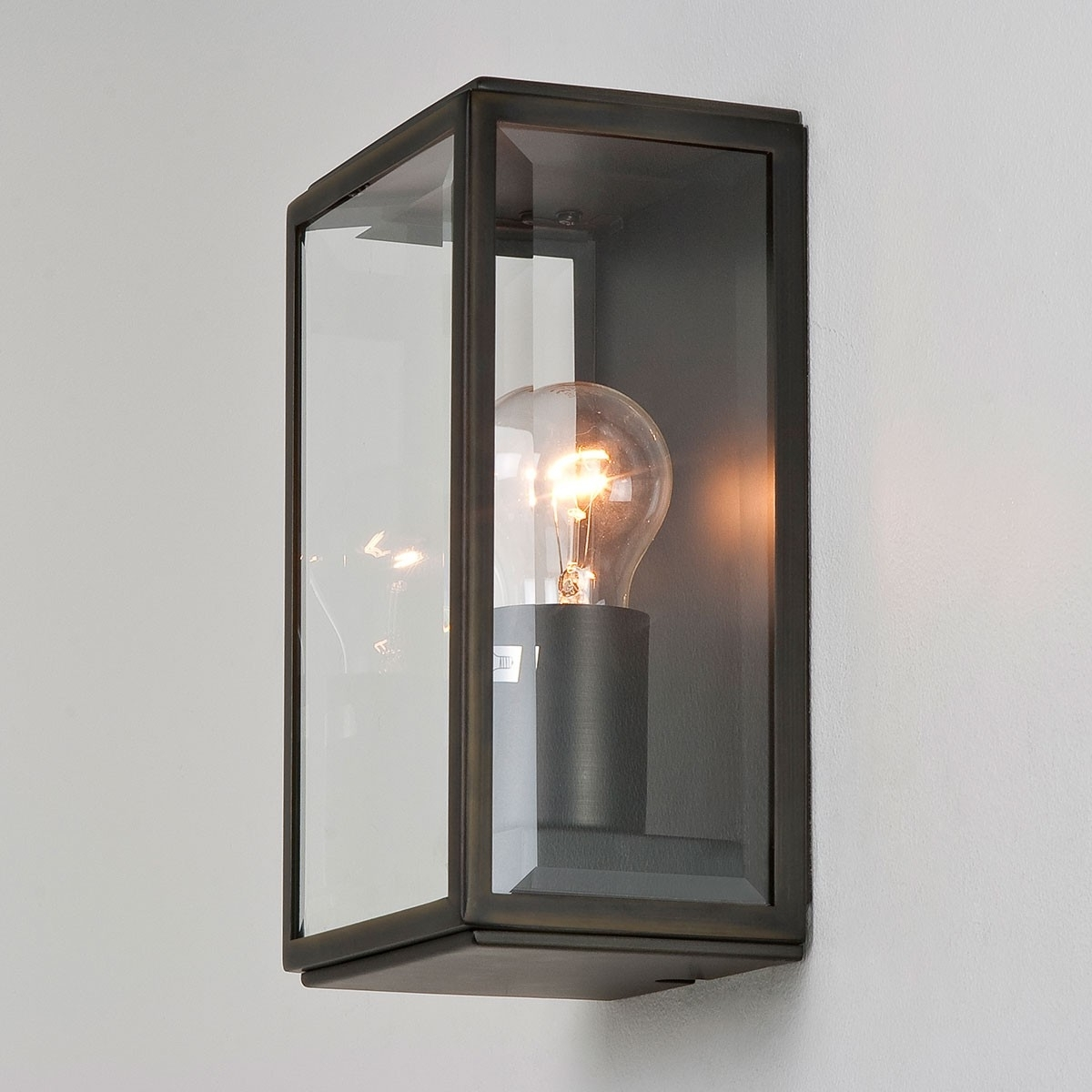 2019 Astro Homefield Bronze Outdoor Wall Light At Uk Electrical Supplies (View 2 of 20)