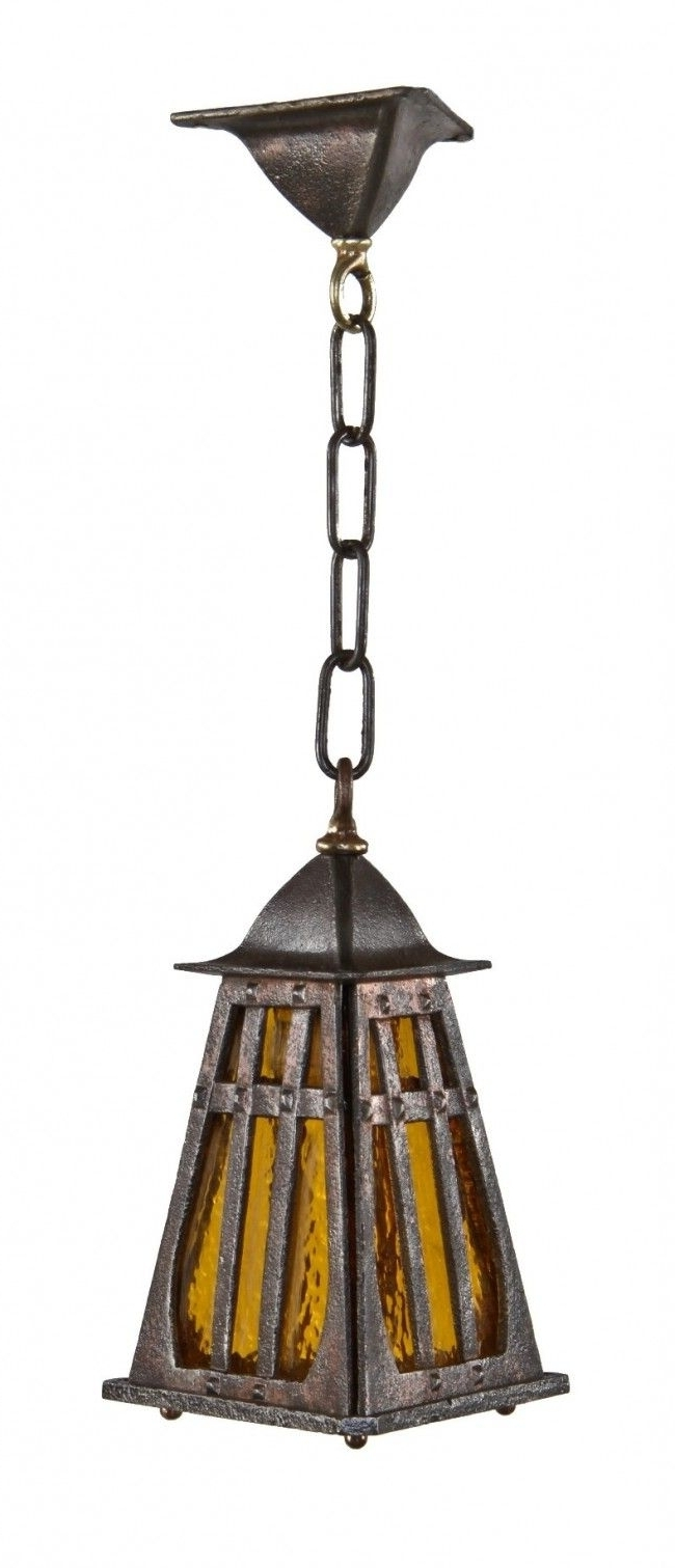 2019 Craftsman Style Outdoor Ceiling Lights With Craftsman Style Outdoor Pendant Lighting • Outdoor Lighting (Gallery 18 of 20)