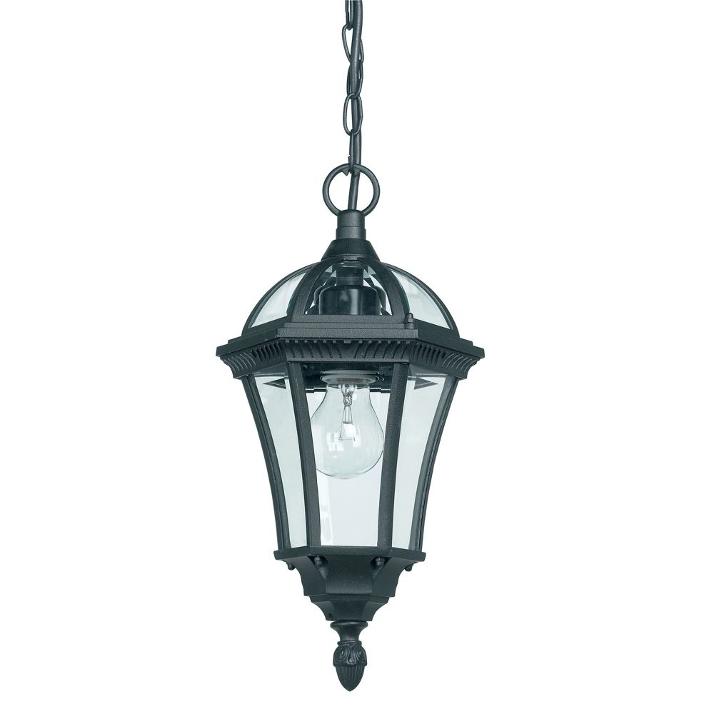 2019 Endon Yg 3503 1 Light Outdoor Hanging Porch Light (Gallery 1 of 20)
