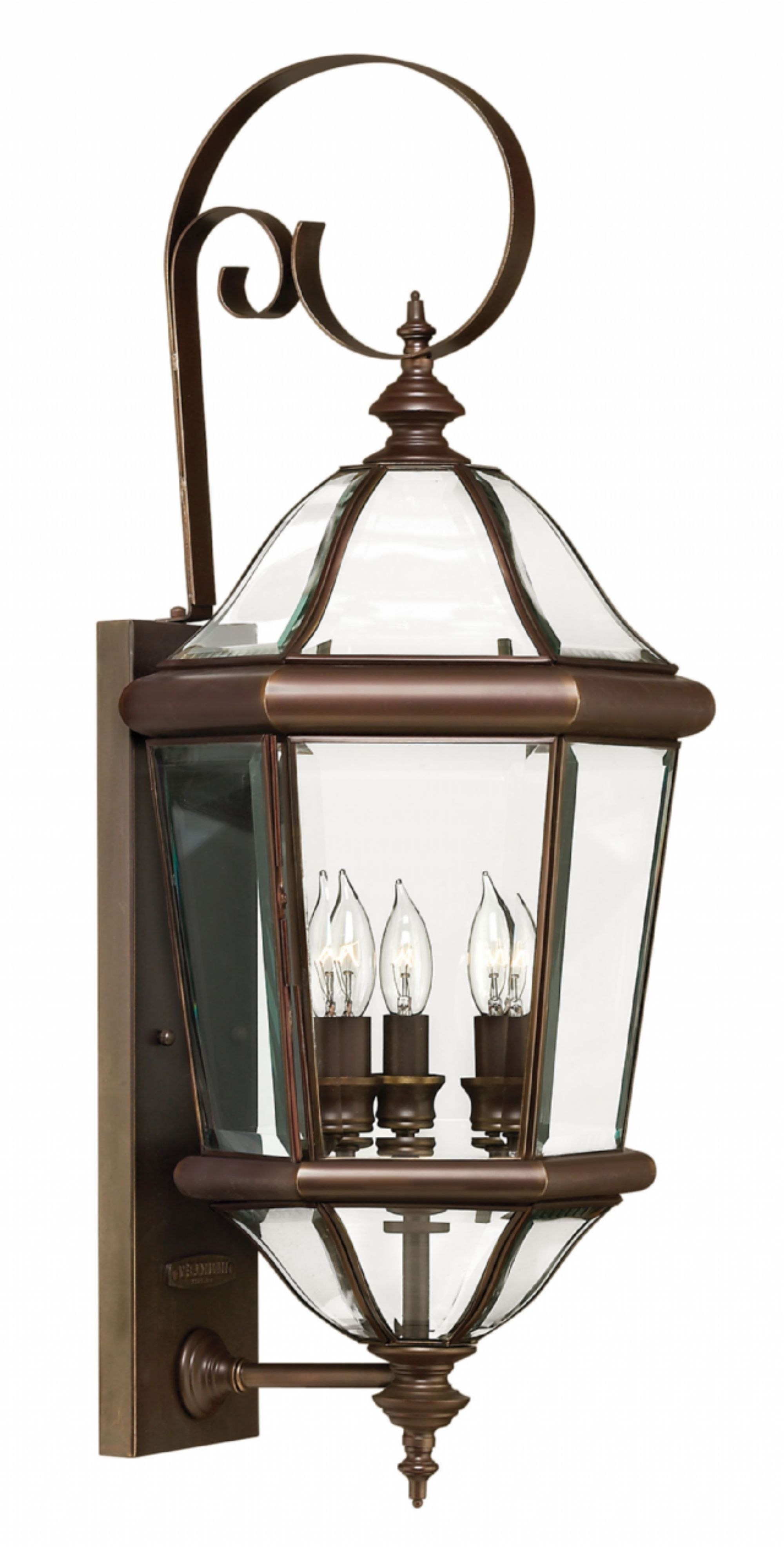 2019 Extra Large Wall Mount Porch Hinkley Lighting With Regard To Copper Bronze Augusta > Exterior Wall Mount (View 8 of 20)