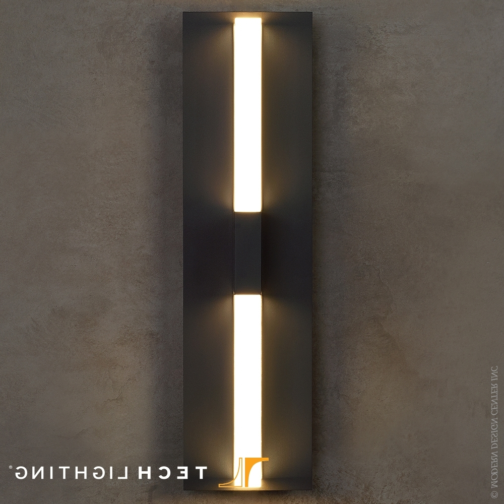 2019 Lyft 18 Led Outdoor Wall Sconce – Tech Lighting At Metropolitandecor For Led Outdoor Wall Lighting (View 16 of 20)