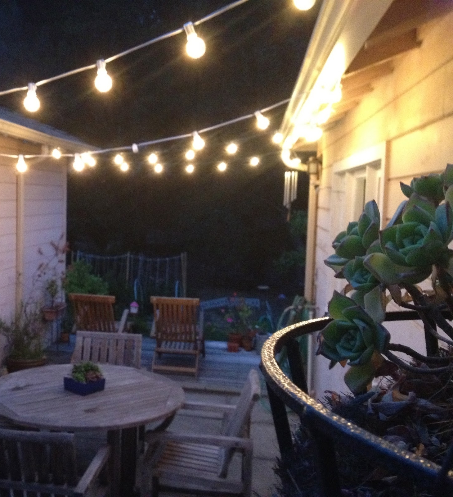 2019 Modern Outdoor String Lights With Regard To Modern Patio String Lights : Remarkable Ideas For Patio String (View 7 of 20)