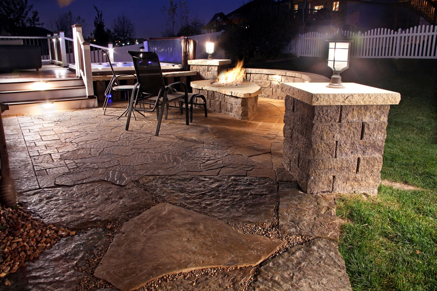 2019 Outdoor Dining Space Lighting Fixtures With Landscape Spotlights Throughout Outdoor Wall Patio Lighting (View 1 of 20)
