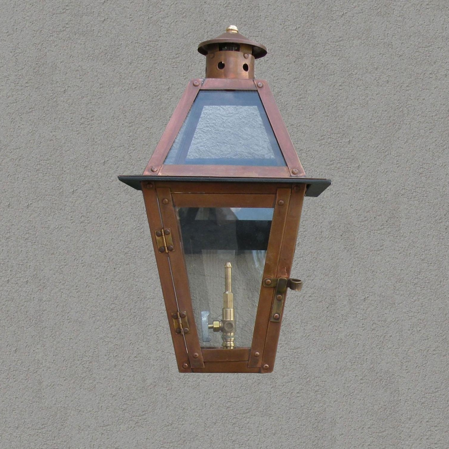 2019 Outdoor Wall Gas Lights In Regency Gl15 Chateau Natural Gas Light With Open Flame Burner And (View 2 of 20)