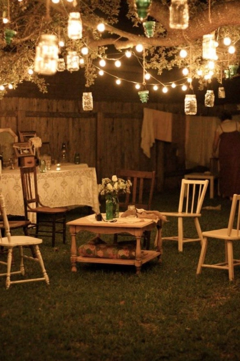 21 Outdoor Lighting Ideas For A Shabby Chic Garden (View 3 of 20)