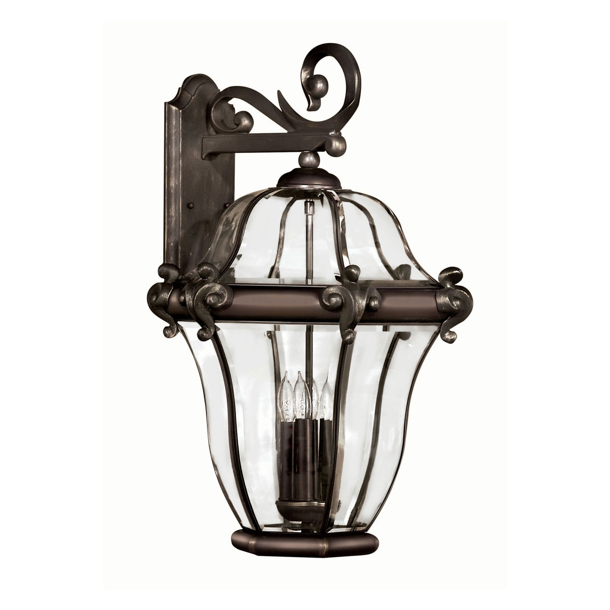 2446Cb – X Large Outdoor Wall Light, San Clemente Copper Bronze With Latest Large Outdoor Wall Light Fixtures (View 6 of 20)
