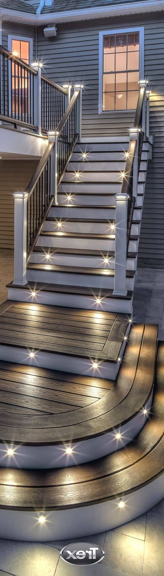 27 Outdoor Step Lighting Ideas That Will Amaze You With Regard To 2018 Contemporary Led Post Lights For Mini Garden (View 18 of 20)