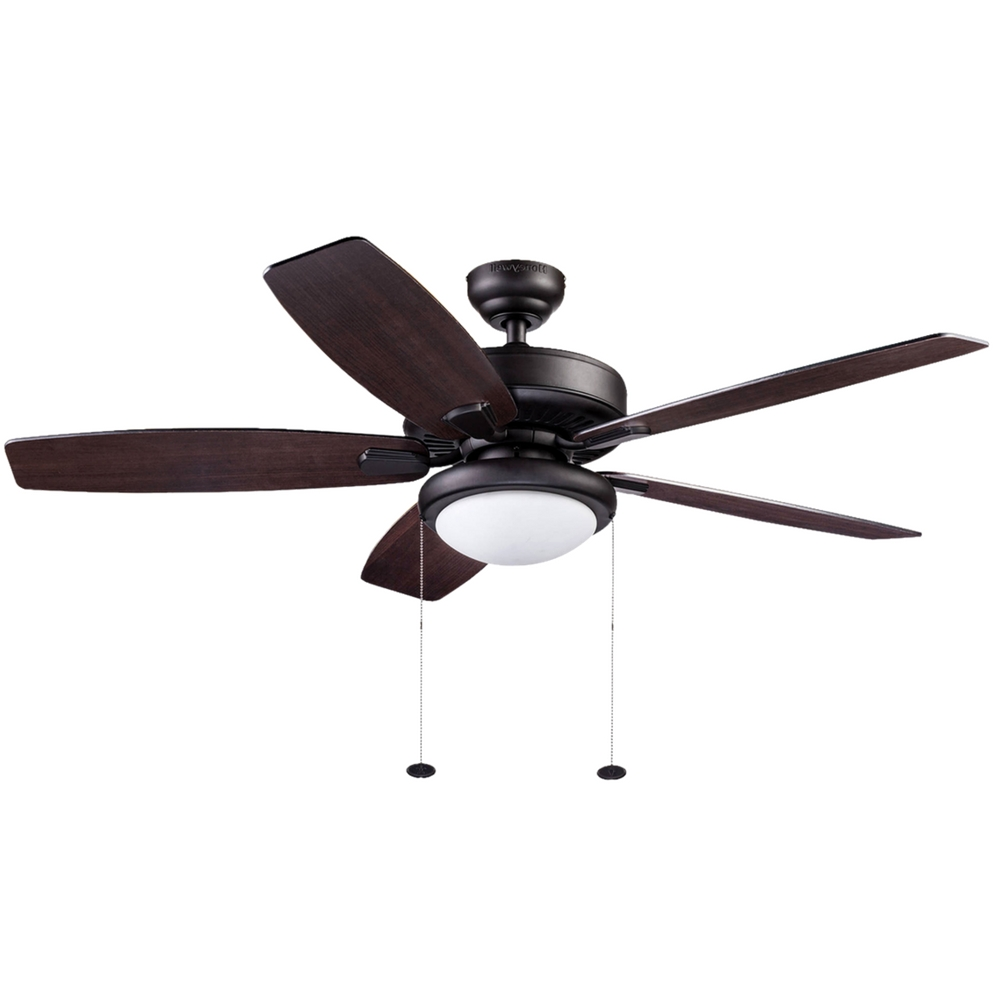 "52"" Honeywell Blufton Outdoor Ceiling Fan, Bronze – Walmart Inside Most Recently Released Outdoor Ceiling Fans With Lights At Walmart (View 2 of 20)"