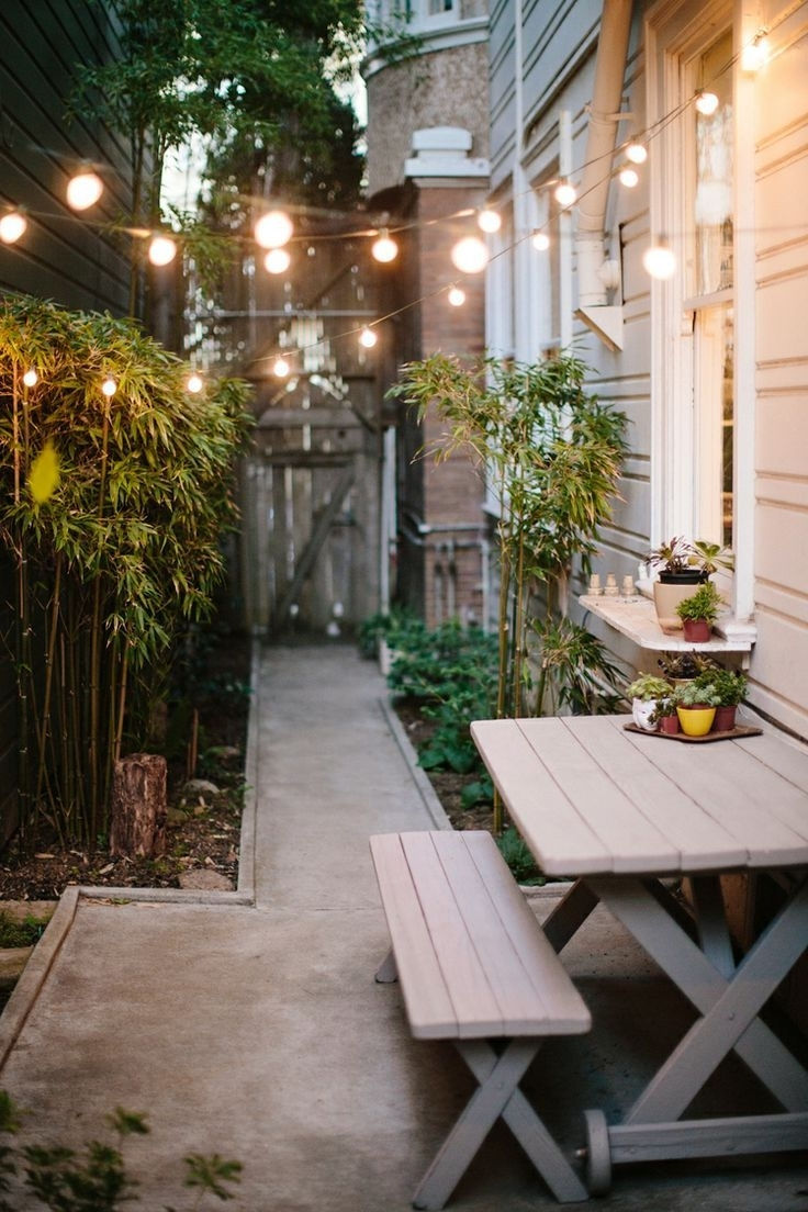 9 Ways To Decorate With Patio Lights – With Widely Used Hanging Outdoor Lights On House (View 3 of 20)