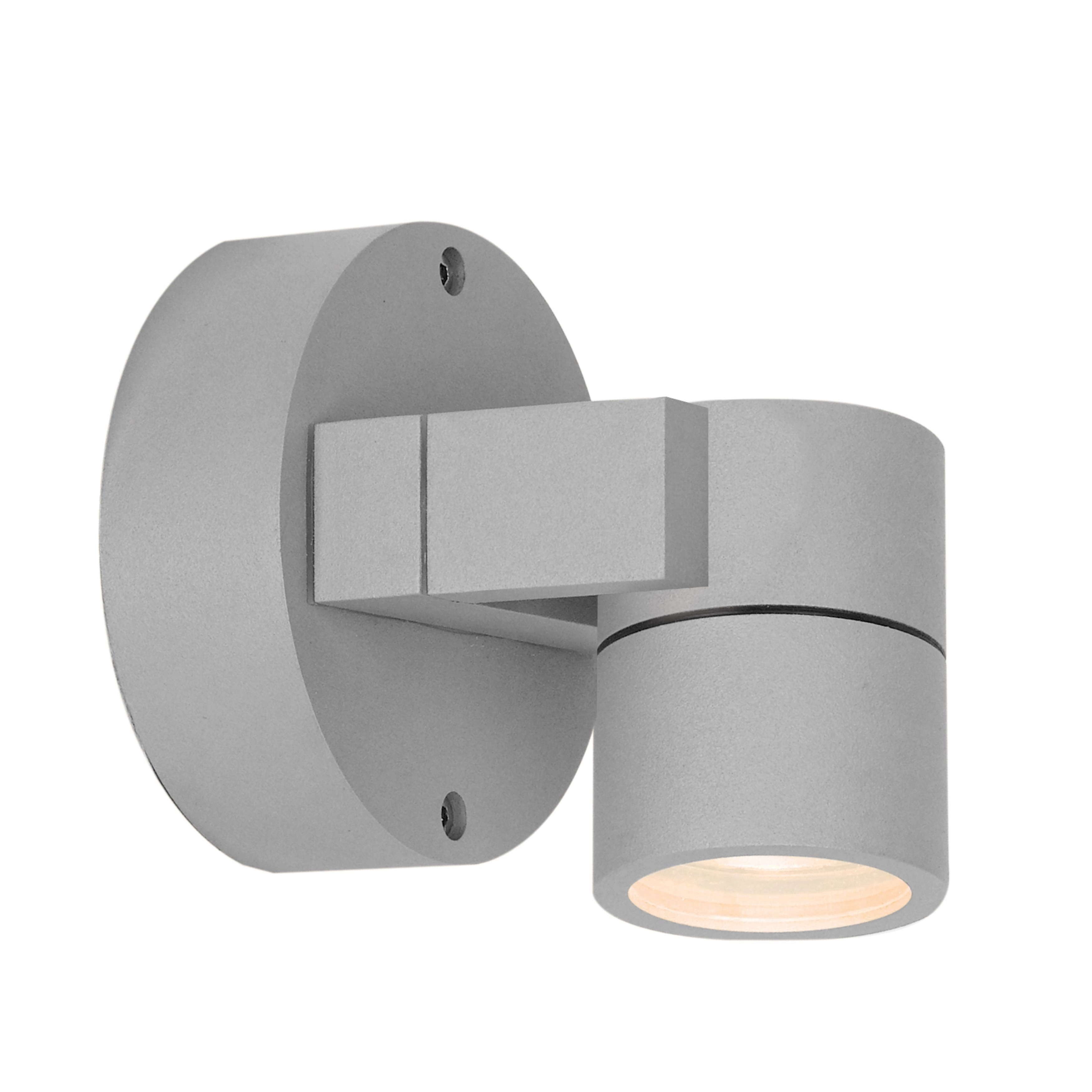 Access Lighting Outdoor Wall Sconces With 2018 Access Lighting Ko 1 Light Outdoor Satin Adjustable Spotlight (Satin (View 9 of 20)