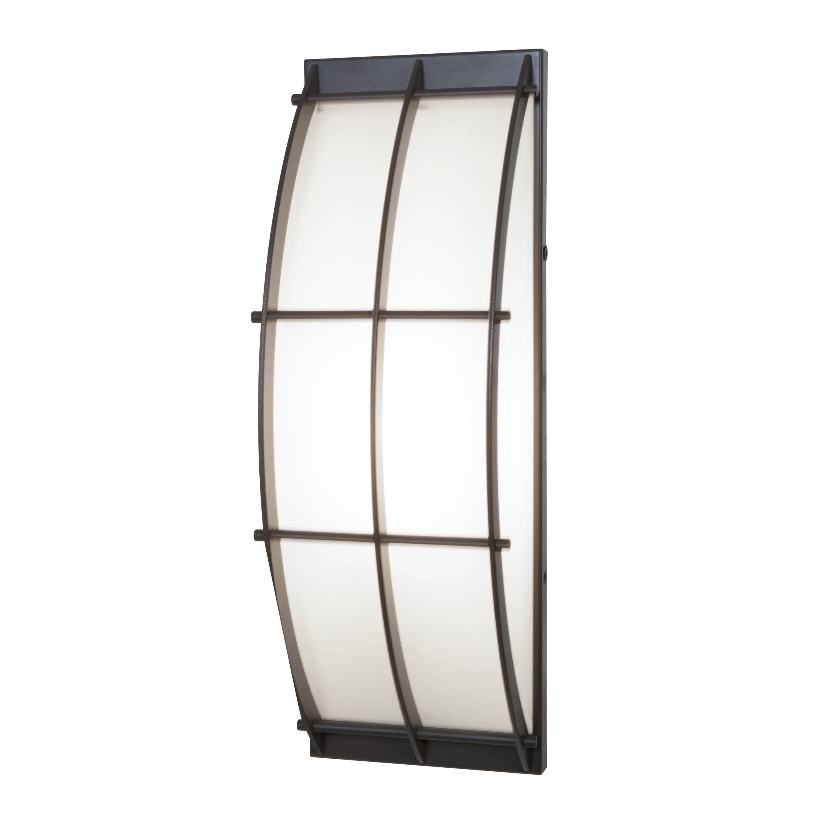Access Lighting Tyro 1 Light Fluorescent Bronze Outdoor Wall Sconce Regarding Trendy Access Lighting Outdoor Wall Sconces (View 12 of 20)