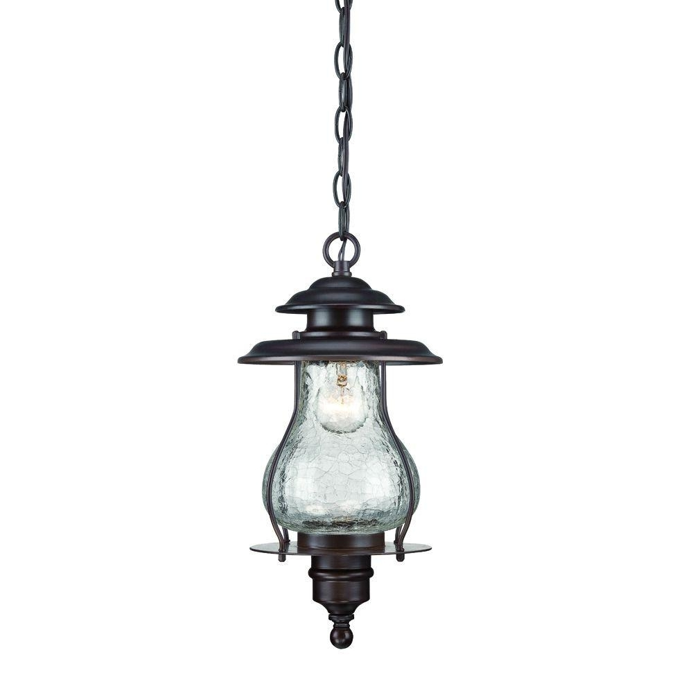 Acclaim Lighting Blue Ridge Collection 1 Light Architectural Bronze Pertaining To Well Liked Houzz Outdoor Hanging Lights (View 14 of 20)