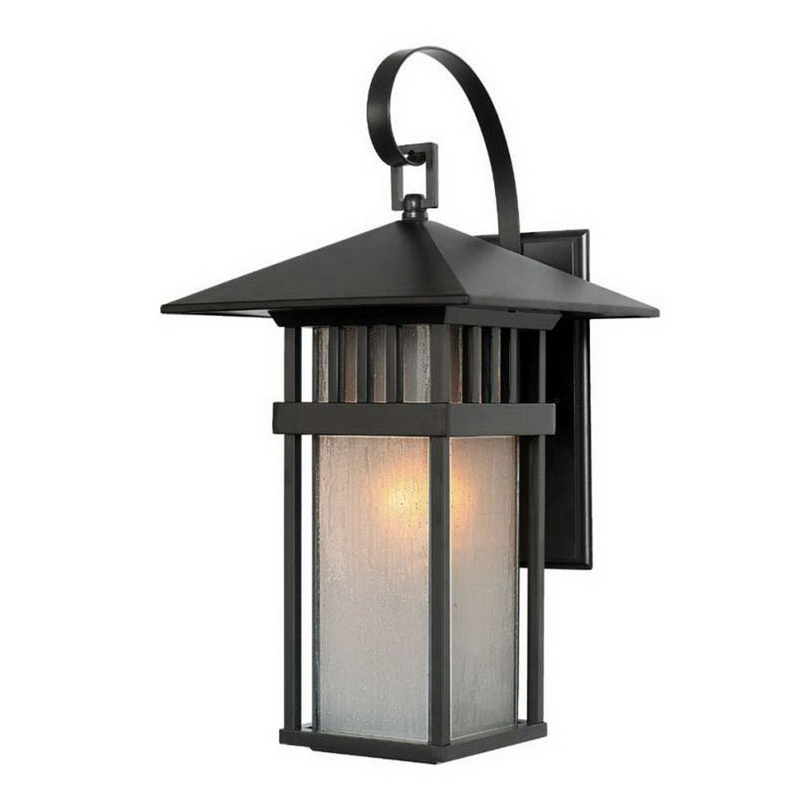 Acclaim Lighting Outdoor Wall Lights With Most Up To Date Write A Review About Acclaim Lighting Bali 17 1/2 In Matte Black (View 3 of 20)