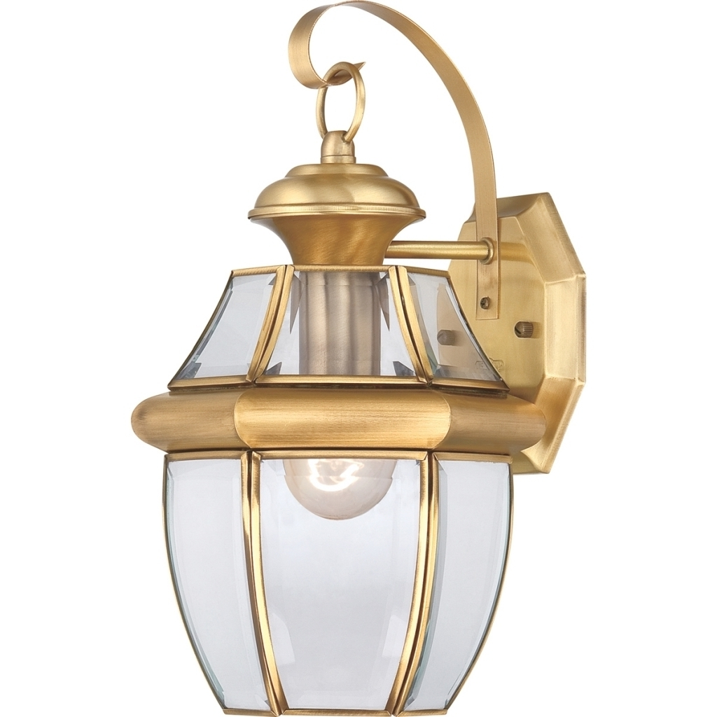 Antique Brass Outdoor Lighting Inside Trendy Antique Brass Outdoor Lighting (View 1 of 20)