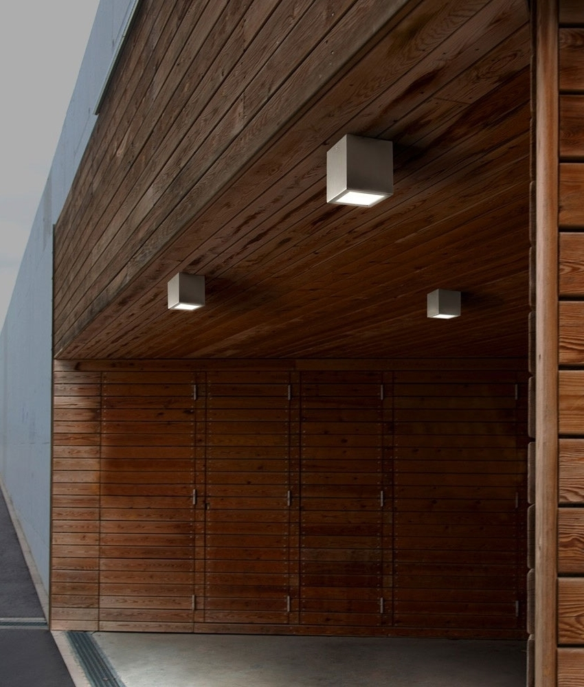 Architectural Exterior Lights (View 7 of 20)