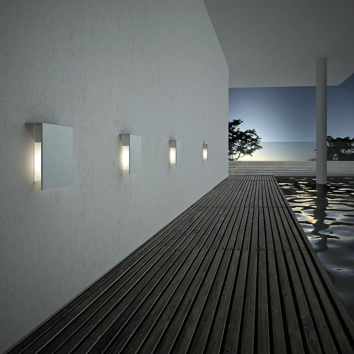 Architectural Outdoor Wall Lighting Within 2018 Top Architectural Outdoor Wall Lighting Ideas (View 10 of 20)