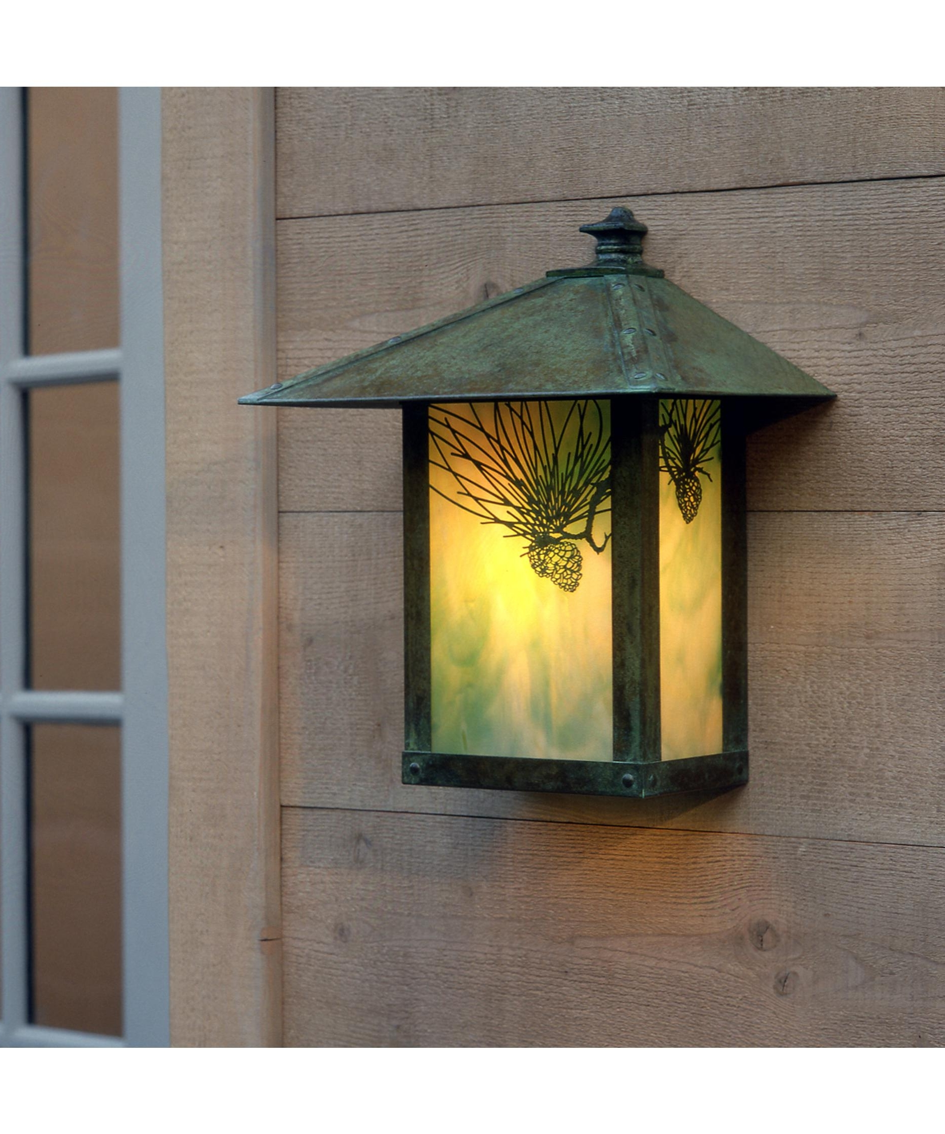 Arroyo Craftsman Ew 12 Evergreen 11 Inch Wide 1 Light Outdoor Wall Throughout Most Popular Verdigris Outdoor Wall Lighting (Gallery 12 of 20)