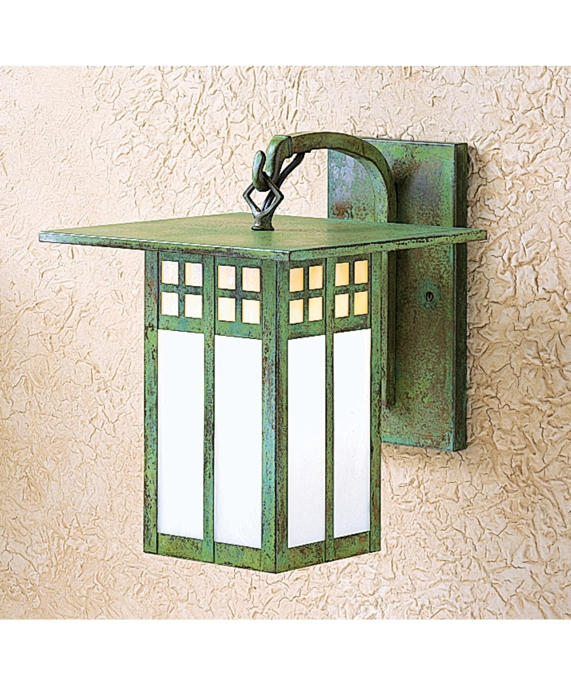 Arroyo Craftsman Gb 9 Glasgow 9 Inch Wide 1 Light Outdoor Wall Light Regarding Most Up To Date Green Outdoor Wall Lights (Gallery 2 of 20)