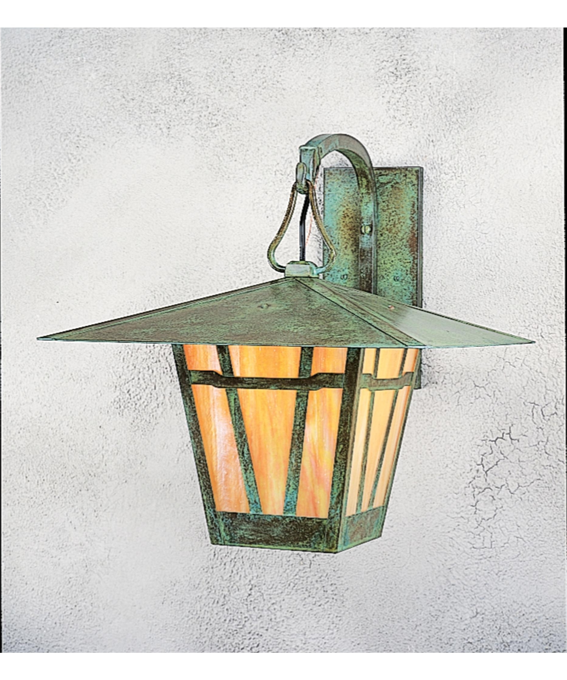 Arroyo Craftsman Wb 17 Westmoreland 17 Inch Wide 1 Light Outdoor Inside Fashionable Verdigris Outdoor Wall Lighting (Gallery 10 of 20)