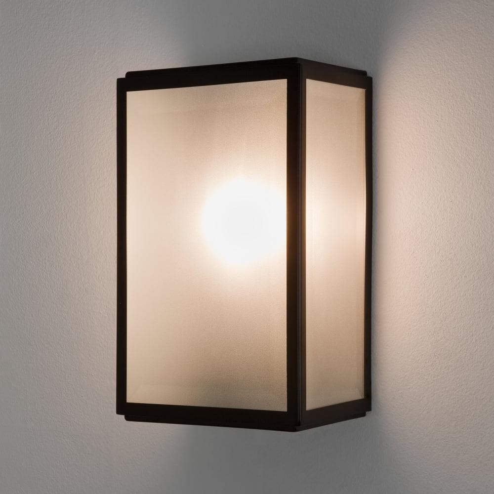 Astro Lighting 7266 Homefield Sensor Pir Ip44 Outdoor Wall Light Black Regarding Best And Newest Outdoor Pir Wall Lights (Gallery 16 of 20)