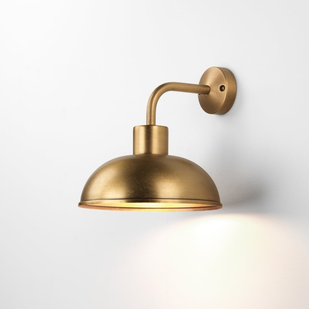 Astro Stornoway Coastal Outdoor Wall Light Inside 2019 Brass Outdoor Wall Lighting (View 2 of 20)