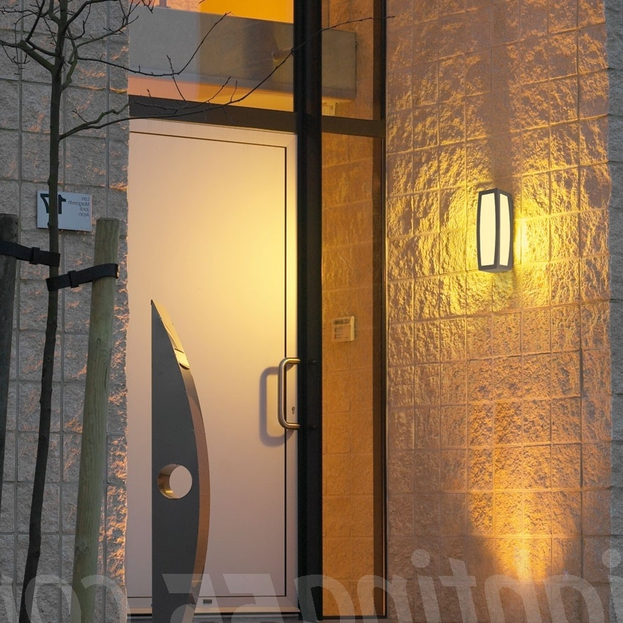 Australia Outdoor Wall Lighting For Current Meridian Box Exterior Wall Lightslv Lighting At Lighting (View 4 of 20)
