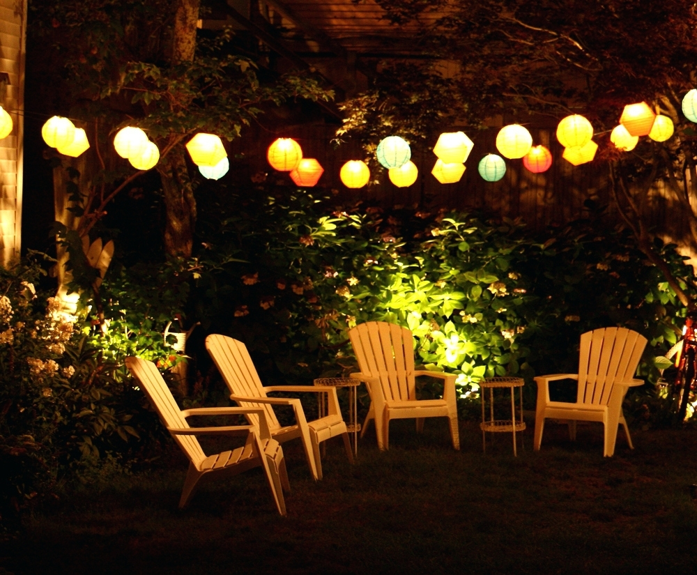 Battery Operated Outdoor Lights At Target Regarding Best And Newest Patio Ideas ~ Outdoor Lighting On Summer Night Out Door Patio Lights (View 3 of 20)